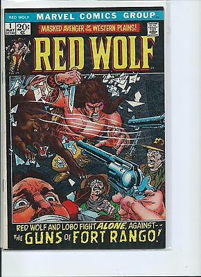 Red Wolf #1 - 1972 - Marvel - FN