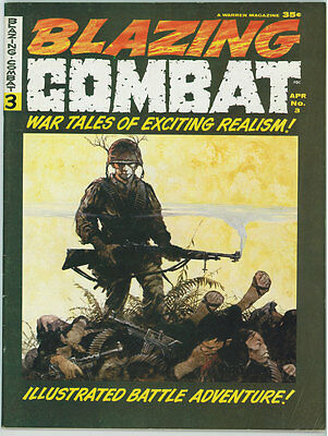 Blazing Combat #3 6.5 Off-White Pages 04/1966