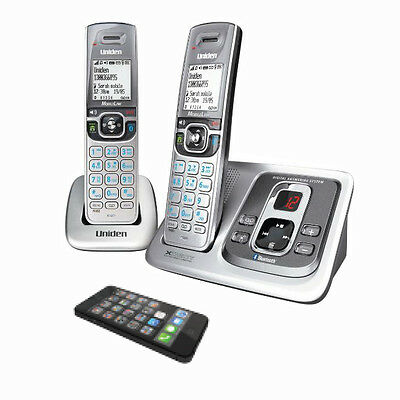 Uniden Xdect 5135+1 Digital Cordless Phone System Integrated Bluetooth Hd Sound