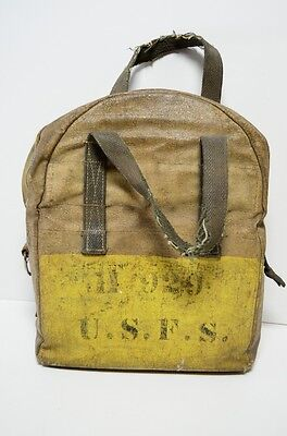 Vintage U.S.F.S. United States Forest Service Field Bag