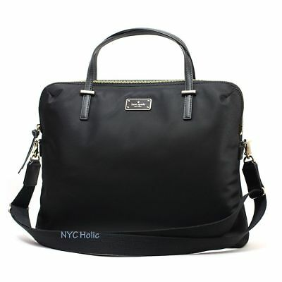 Kate Spade Blake Avenue Daveney Laptop Shoulder Bag Handbag Briefcase in Black