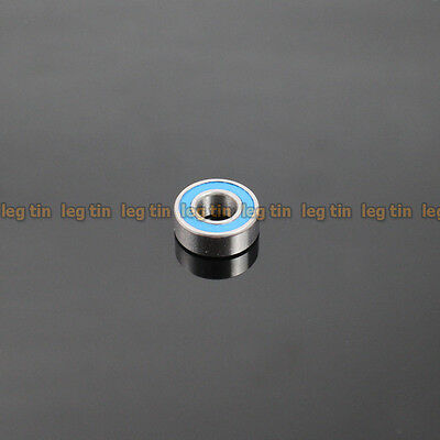 [10pcs] MR115-2RS 5x11x4 mm (Blue) Rubber Sealed Ball Bearing Bearings