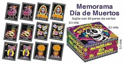Memorama    Memory Game  Dia De Los Muertos - Day Of The Dead      Fun Game !