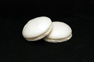 2 Macaron, Silicone Mold Chocolate Polymer Clay Jewelry Soap Melting Wax Resin