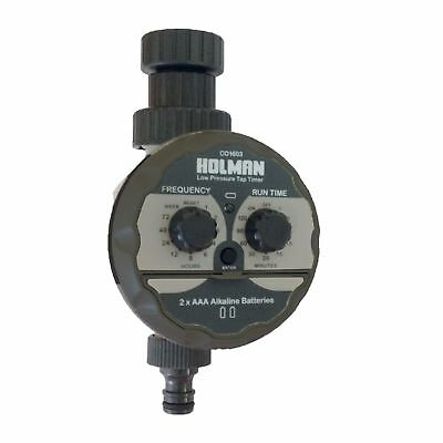 Holman low pressure TAP TIMER Irrigation Controller for water tanks