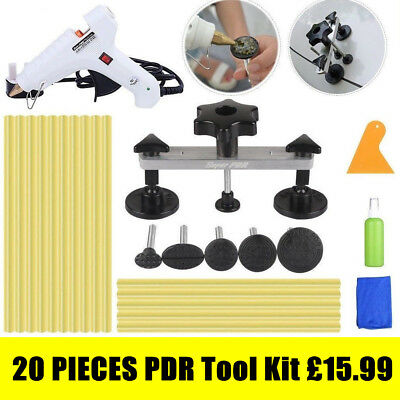 PDR Tool Paintless Dent Removal Glue Gun Pulling Bridge Hail Repair Kit UK Stock