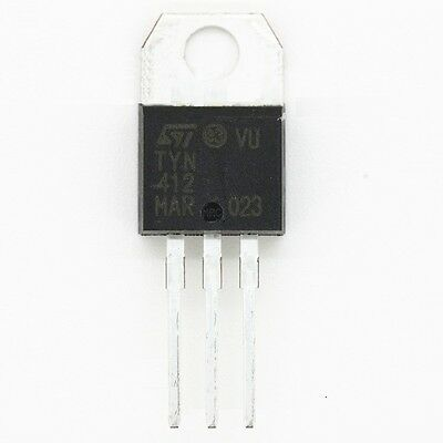 10 PCS TYN412 ST TO-220 12A400V IC Unidirectional thyristor