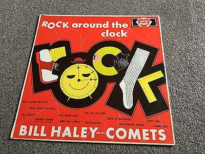 Bill Haley And His Comets - Rock Around The Clock - 1961 Ace Of Hearts Lp Ex-