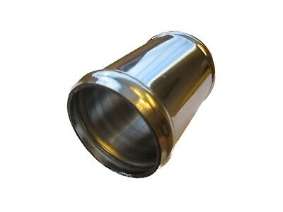 """Aluminium Alloy Intake Induction Pipe Joiner 51mm 2"""" Inch (50mm) 76mm 3"""" Long"""