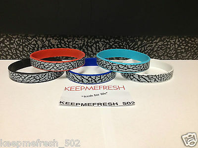 ELEPHANT PRINT Colorful Silicone Wristbands BUY 1 GET 1 FREE + FREE SHIPPING