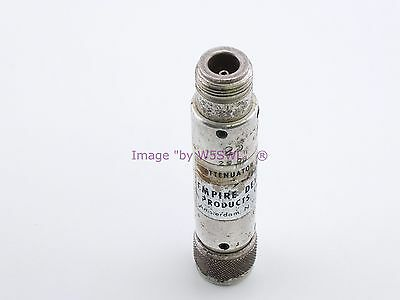 Empire Devices 25 dB Attenuator with N Connectors (bin2Loc) -  Sold by W5SWL