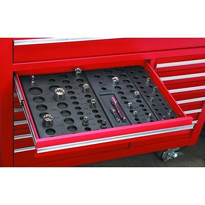 New 6 Piece Socket Drawer Organizers for up to 195 sockets! Free US Shipping!