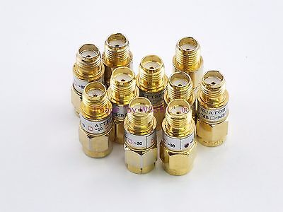 RFAC Solutions 5 dB Attenuator DC-3GHz  SMA Connectors NOS  -  Sold by W5SWL