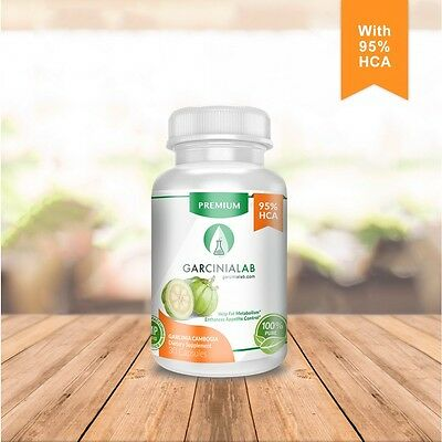 100% Pure 95% HCA  GARCINIA CAMBOGIA EXTRACT-Weight Loss Fat Burner GarciniaLab