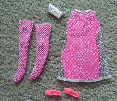 #1208  Francie The Silver Cage Outfit Complete Very Nice ~~