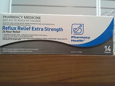 =>Price Smash Ph Reflux & Heartburn 24 Hours Effect 14 Caplets = Zantac Extra