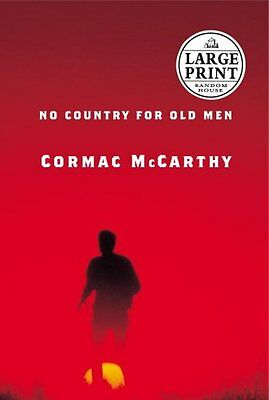 USED (GD) No Country for Old Men (Random House Large Print) by Cormac McCarthy