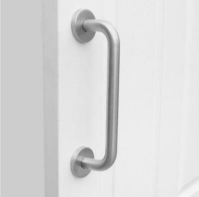 Bolt Through D Handle 19mm Satin Stainless Steel Pull 150 225 300 420 450 600 mm