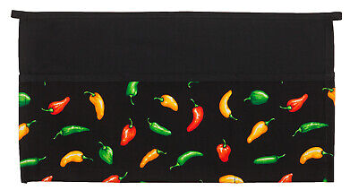 Daystar Aprons 1 Style CP100 three pocket Chili Pepper waist apron ~ Made in USA