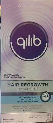 Qilib Hair Regrowth Reactivate  Stimulate Follicles For Women One Month Supply