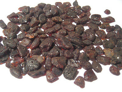 Holed Natural Raw Baltic Amber Loose beads about 130 pcs (15gr)