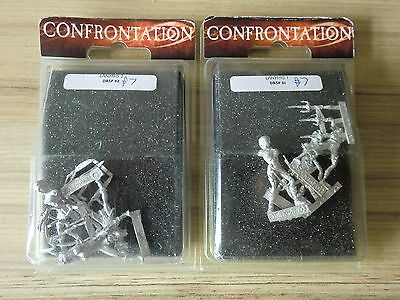 Lanyfhs of the Black Woods 1 & 2 OOP - RARE - Rackham Confrontation Drunes