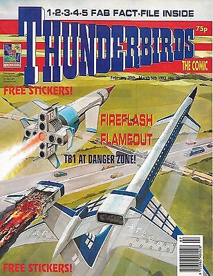 Thunderbirds #36 (February 20 1993) TV21 full colour reprint strips