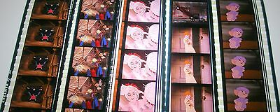 Disney's - The Rescuers -  Rare Unmounted 35mm Film Cells - 5 Strips