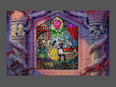 Beauty and the beast dancing jigsaw puzzle adult kids a5 a4 size novelty disney