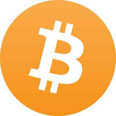 """PACK OF 10 -Bitcoin Stickers -Free Shipping! 10 PACK DEAL -Bitcoin Logo 3"""" x 3"""""""