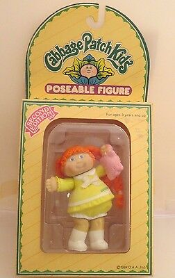 Vintage Cabbage Patch Kid CPK poseable figure 1984 second edition