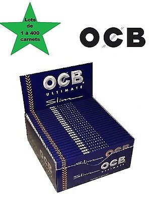 OCB Slim Ultimate lots de 1 à 400 carnets de feuille à rouler longue