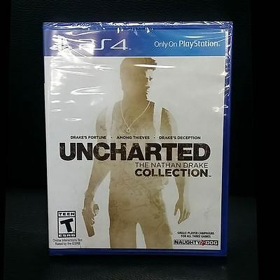 Uncharted The Nathan Drake Collection PS4 (English Portuguese Spanish French)