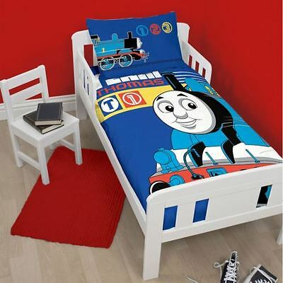 Thomas The Tank Engine Cot/ Toddler Doona  / Quilt Duvet Cover Licensed New