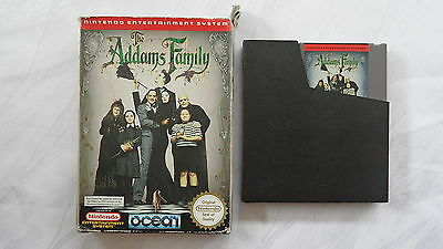 The Addams Family für NES in OVP