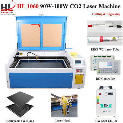 100W Co2 USB Laser Cutting Machine Laser Cutter Engraver 1000 x 600mm Auto-Focus