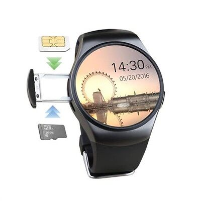 Bluetooth Smart Wrist Watch SIM GSM Phone Mate For IOS Android iPhone Samsung