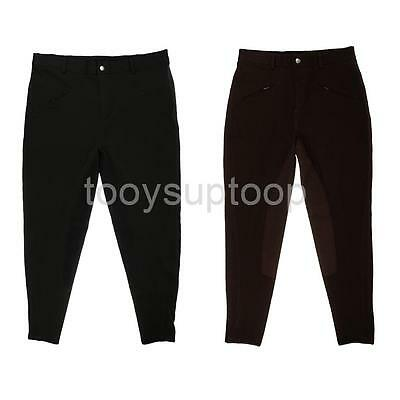 Kids Youth Jodhpurs Horse Riding Pants Equestrian Full Seat Breeches All Sizes
