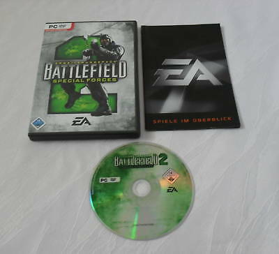 Battlefield 2 - Special Forces Add-on für PC - CIB - Komplett !