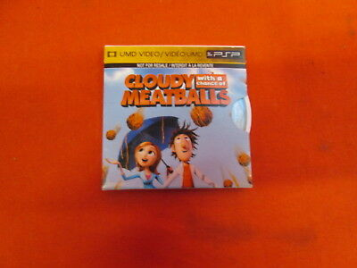 Cloudy With A Chance Of Meatballs UMD For PSP Very Good 0F