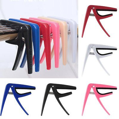 Ukulele Guitar Capo Key Clamp Quick Change Trigger for Acoustic Electric Guitar