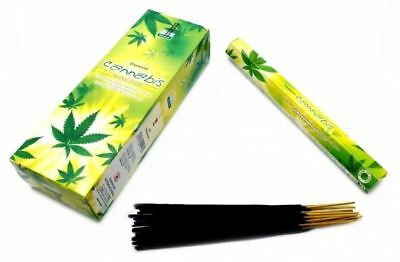 6 Box/Pack 120 Sticks Total Darshan CANNABIS Quality Incense Fragrance India