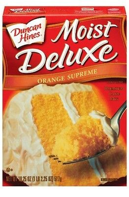 Duncan Hines  signature orange supreme cake mix