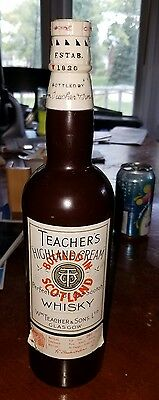 Vintage/ANTIQUE Teachers Scotch Whisky Japanese Radio!!