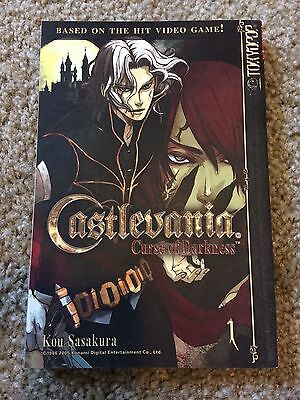 Castlevania Curse of Darkness manga vol 1 NEW / out of print TOKYOPOP