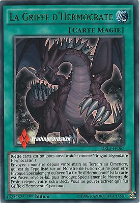 ♦Yu-Gi-Oh!♦ La Griffe d'Hermocrate (Claw of Hermos) : DRL3-FR067 -VF/ULTRA RARE-