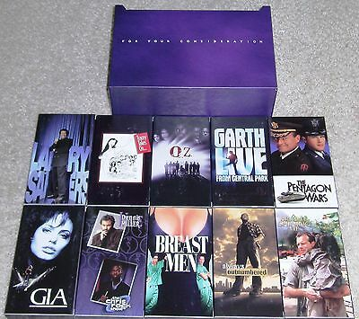 Hbo-For Your Consideration Box Set-1998-Garry Shandling-Breast Men-Gia-More