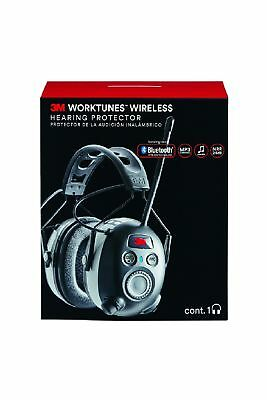 3M WorkTunes Wireless Hearing Protector with Bluetooth Technology and AM/FM Digi