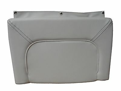 Tidewater Boats 210LXF Port Or Starboard Transom Bottom Cushion White / Gray