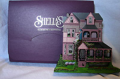 Sheila's 1999 Collectible Victorian Home SPRING CLEANING w/ Honey Do List & Box